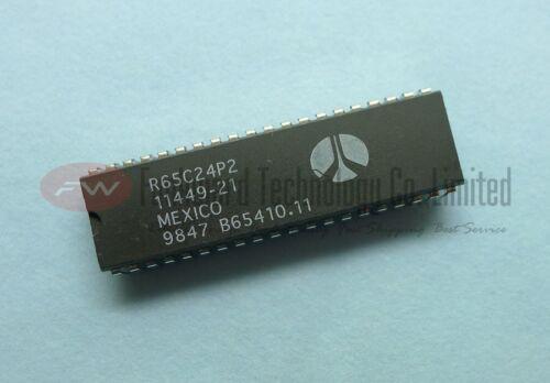 Rockwell R65C24P 65C24 6524 8-BIT Microprocessor DIP40  x 1pc