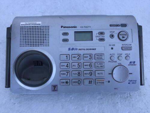 Panasonic KX-TG5776S KX-TG5776 PHONE BASE SYSTEM FOR KX-TGA571 /& KX-TGA570