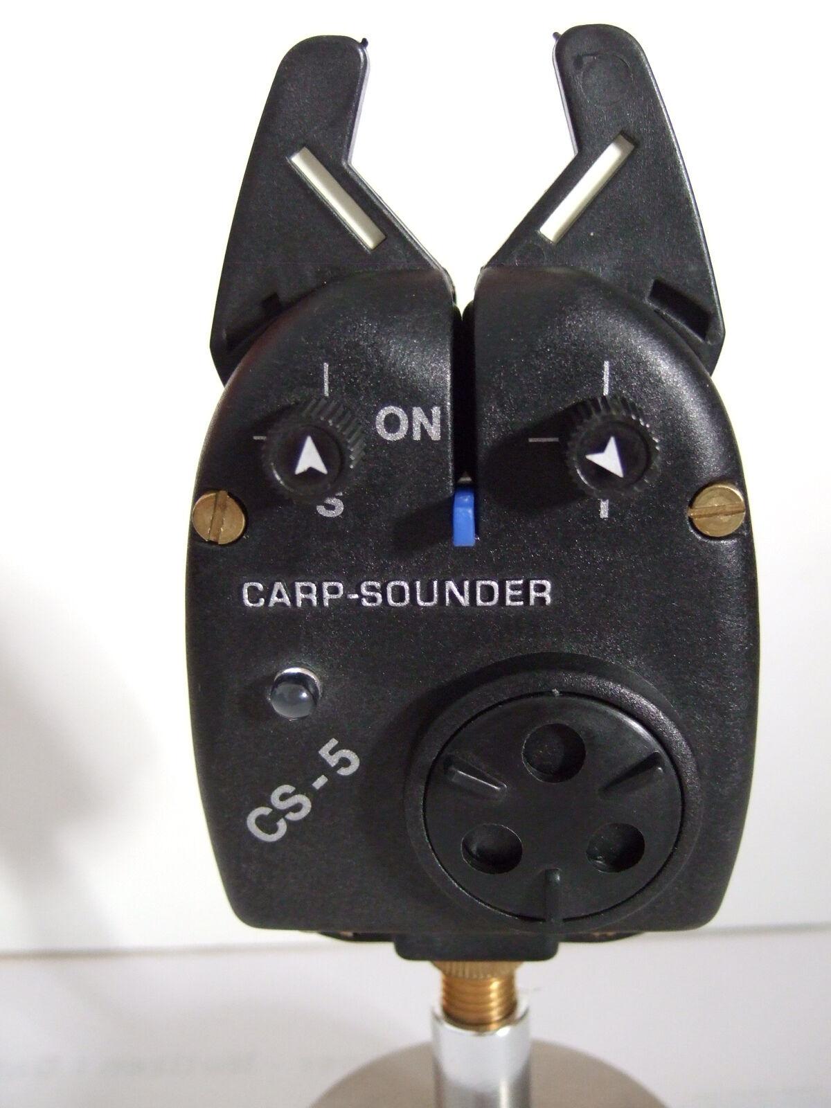 CarpSounder CS 5 Bißanzeiger, LED blau, Neu