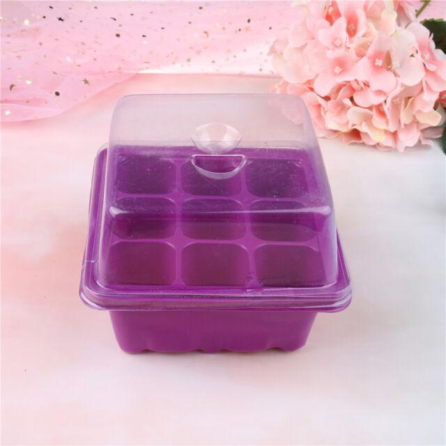 9 Hole Plant Seed Grow Box Insert Propagation Nursery Seedling Starter Tray  R