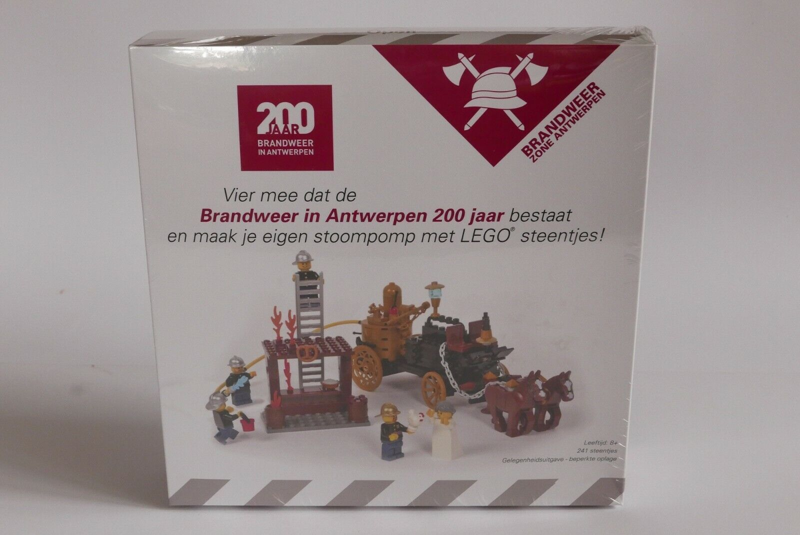 LEGO Amazings Certified Professional Fire Department 200 Years Antwerpen SEALED