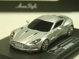 silber 1:87 HO-05 FrontiArt Aston Martin One:77