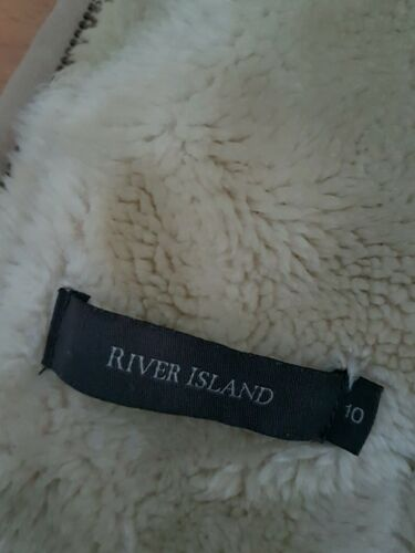 River Uk10 Winter Coat Vgc Lovely Size Island SfvnXvx0