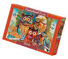 Owls Castorland Jigsaw Puzzle 2000piece Multicolour 2000 Pieces