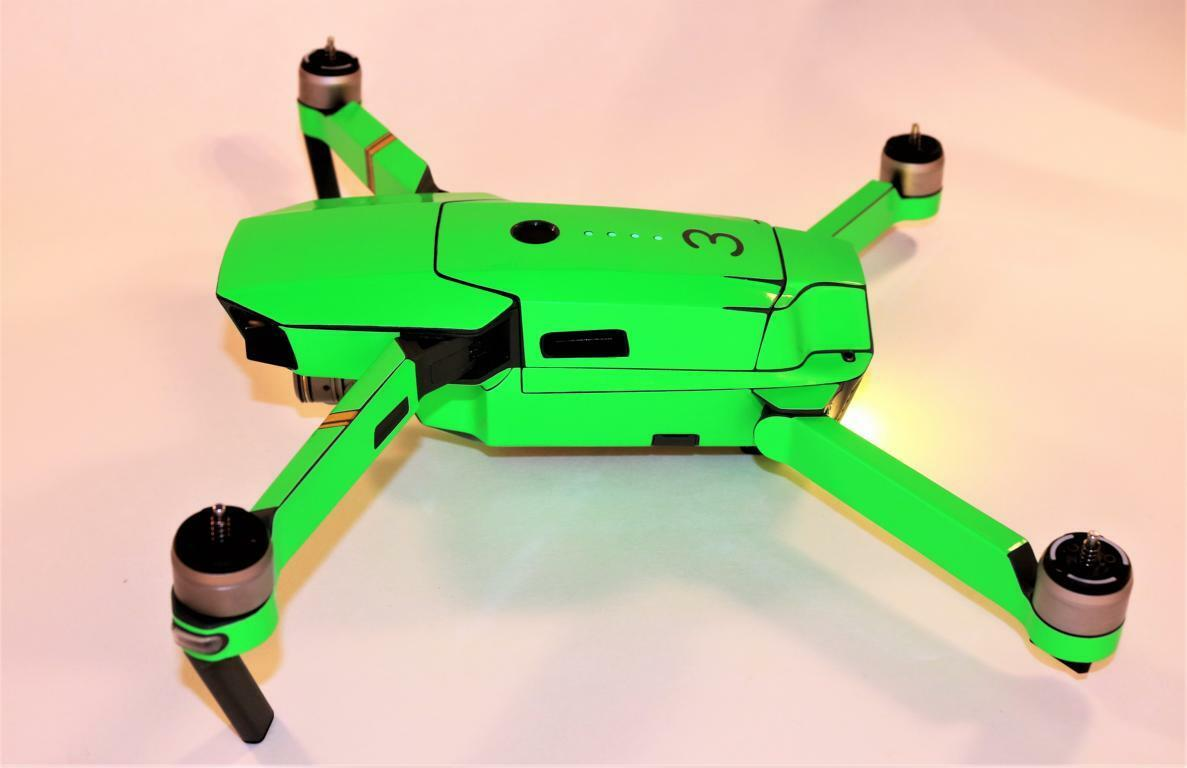 DJI MAVIC PRO   PLATINUM - SKIN SKIN SKIN - NEON green - 3-5 Batterien   Drohne   Zubehör c98892