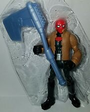 "DC Universe DC COMICS RED HOOD 4"" Figure Unlimited Gotham City Bane Battle"