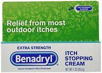 Benadryl Extra Strength Anti_itch Cream 1oz Tube