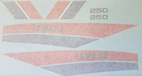 DT250MX DT250 MX Modèle complet peinture decal Kit