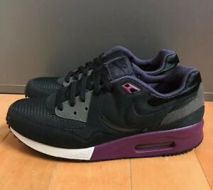 NIKE AIR MAX LIGHT BLACK MULBERRY 2008 RELEASE VINTAGE SZ 7.5 ... b6e41aa05