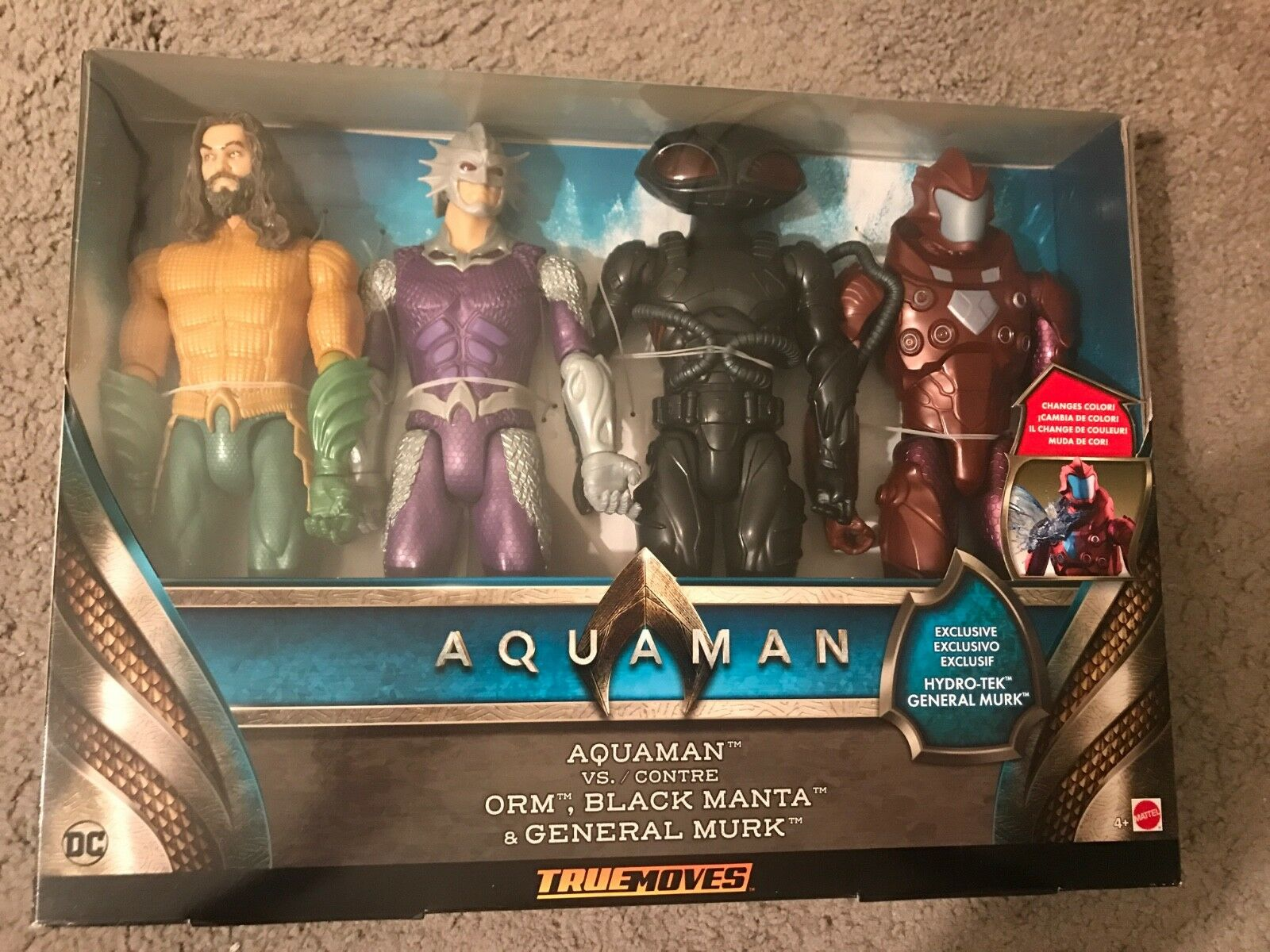 TOY FIGURES  AQUAMAN THE NEW MOVIE. FREE SHIPPING