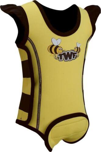 Twf Bébé Wrap Wetsuit-Bee jaune 2018