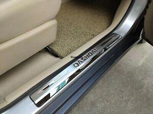per Nissan Qashqai J11 2014-2020 Pedale Porta Pedale Batticalcagno Barra Soglia Battitacco Sottoporta Striscia di Protezione Accessori Decorativi HOUGE 4 Pezzi Sottoporta Acciaio Inossidabile,