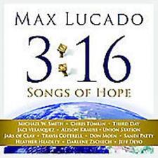 CD + DVD  Max Lucado 3:16 SONGS OF HOPE Darlene Zschech Chris Tomlin M.W. Smith