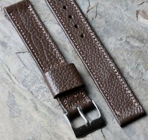 JB-Champion-USA-textured-Scotch-Grain-Leather-15-5mm-vintage-watch-band-1940s-50
