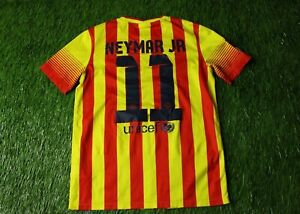 1813ccd58 BARCELONA  11 NEYMAR JR 2013 2015 FOOTBALL SHIRT JERSEY AWAY NIKE ...