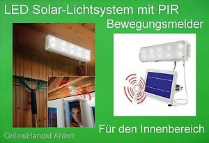LED-Solar-Lichtsystem-Innenraumleuchte-Solarlampe-Solarleuchte-Innen-mit-Akku