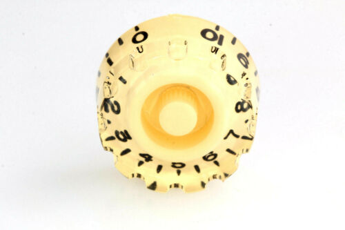 """Speed /""""Grip/"""" Knobs Ivory for US//CTS Potis Set 4 fits Gibson®"""