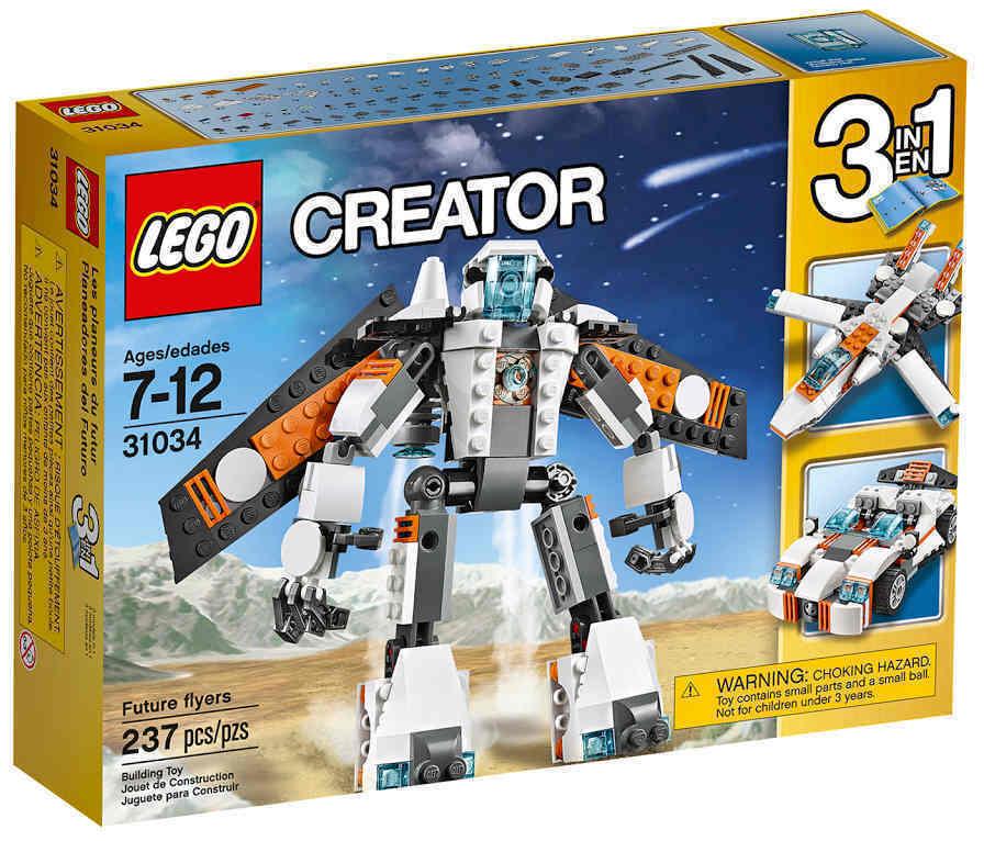 Lego Creator 31034 31034 31034 - Zukunftsflieger Future Flyers Set 3-IN-1 NEU OVP 9b0565