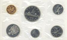 Canada 1972 Proof Like PL Coin Set Uncirculated COA Envelope