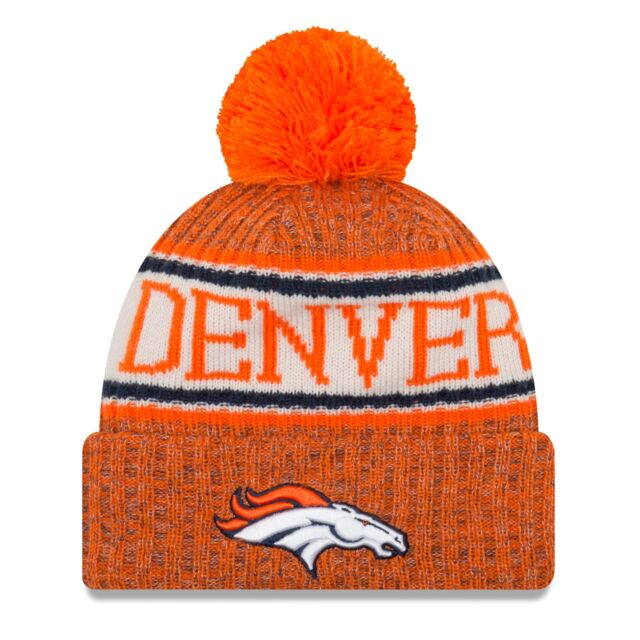 New Era-NFL Denver Broncos on field Salute to service 2018 Knit cuff Beanie