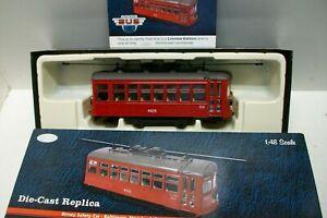 Corgi Us55204 / (l2090 / 4) Tram Birney Voiture de sécurité - baltimore Echelle Env 1:48