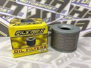 Filtrex Motorcycle Oil Filter Triumph 900 Tiger 1991-2000 OIF001