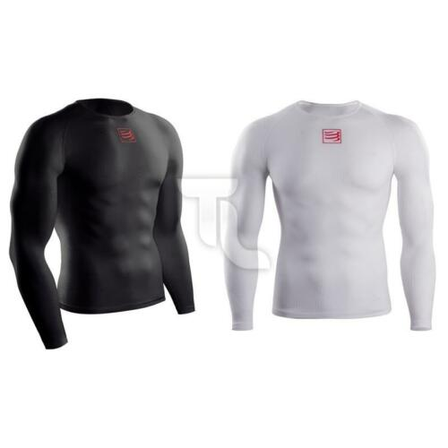Compressport 3d Thermo Ultralight Shirt Manches Longues Top Neuf Messieurs