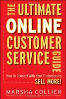 Ultimate Online Customer Service Guide Social Media Sell Signed Marsha Collier