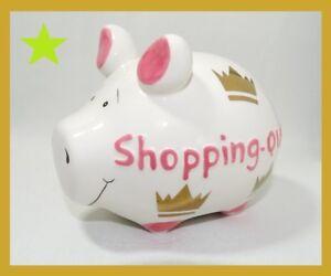 Weitere Sammelgebiete Sparschwein Shopping Queen Kleinschwein KCG Spardose Sammeln & Seltenes