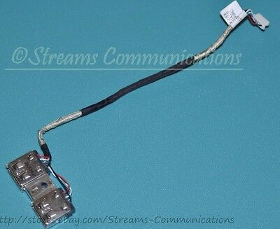Dual TOSHIBA Satellite A505 Series USB Port Board w// Cable A505-S6965 Laptop