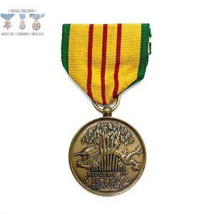 Details about U.S. VIETNAM WAR SERVICE MEDAL CRIMP BROOCH ARMY NAVY MARINE AIR FORCE BIN #11
