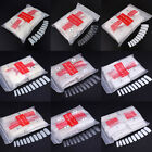 500pcs Natural White Clear False French Full Half Acrylic UV Gel Nail Art Tips
