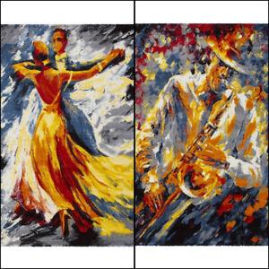 art-moderne-design-Saxophone-et-lent-Dance-Multicolore-Tapis-en-2-tailles-tapis
