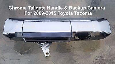FOR 05~09 10~15 Toyota Tacoma Chrome Tail Gate Cover w// Backup Camera Hole