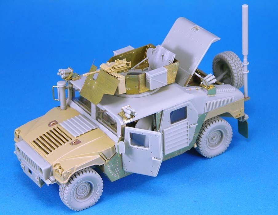 Lf1203 M1114 humvees, equipo de modificación de humvees, El trompetista dragón hobby bostacon.