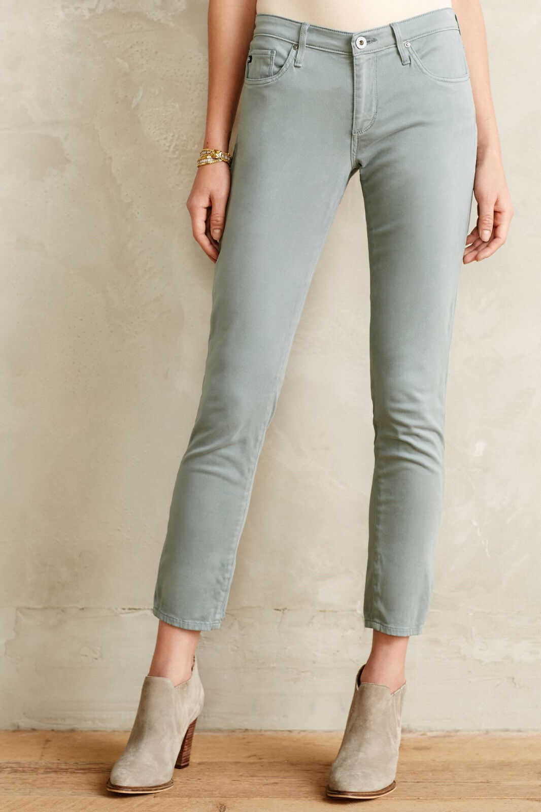 AG Stevie Ankle Sateen Jeans Pants Various Farbes Größe 30, 32 NW ANTHROPOLOGIE T