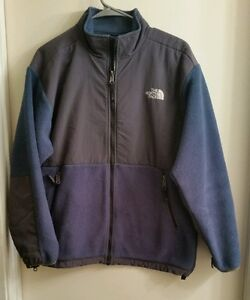c5dd60e0a Details about The North Face Youth/Junior warm fleece jacket XL-TG cold  weather blue/gray