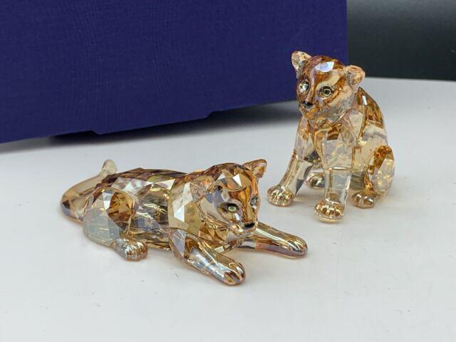 Swarovski Figurine 5428542 Scs 2019 Leopard Baby's 13,6 Cm. New Product