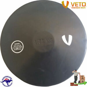 VETO-1-75-Kg-Sports-Rubber-Discus-Competition-Throw-Equipment-School-Athletics