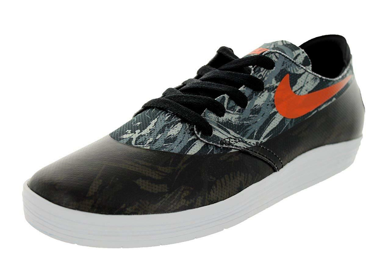 NIKE Mens Lunar Oneshot SB (World Cup Pack) shoes - Size 8 (BLACK orange)