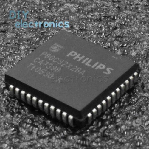 5PCS P80C32X2BA C32X2 P80C32X PLCC-44 8-bit microcontroller
