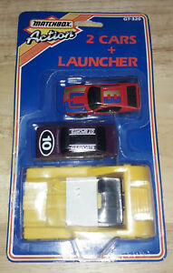 Matchbox Action GT320 Sealed Blister Pack 2 Cars & Launcher Boxed Models (MB025)