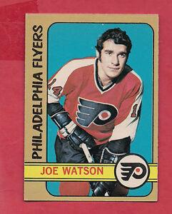 1972-73-OPC-62-FLYERS-JOE-WATSON-EX-MT-CARD