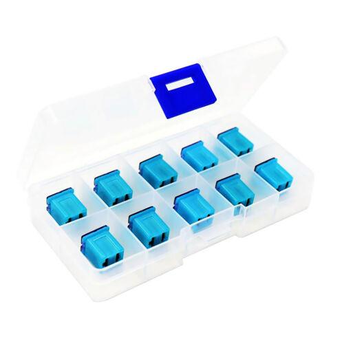 Packung mit 10 Stück 20AMP 32V F2822 Z JCASE Box geformte weibliche