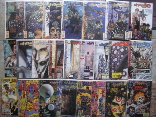 SHADE COMPLETE CLASSIC 70 ISSUE 1990 DC series by MILLIGAN the CHANGING MAN