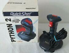 Nintendo Nes QuickShot Python 2 Controller Arcade Accessory Joystick RARE  L1192