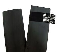 Rhino Black Heat Shrinkable Tube With Glue Double Wall Heat Shrinkable Tube 12m