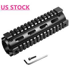 6.7 inch Carbine Length 2 Piece Drop-In Picatinny 223  Quad Rail Handguard