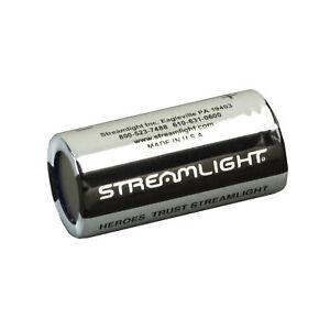 Streamlight Flashlight 3V Cr123 Lithium Batteries Pack Of 6