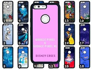 brand new 283c0 16f0f Details about Disney Google Pixel & Google Pixel XL Rubber Phone Cases  Choose from 70 Designs
